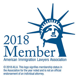 2018 Member of American Immigration Lawyer Association